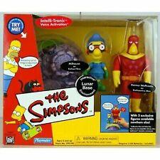 Playmates Toys The Simpsons Interactive Lunar Base Environment - Milhouse As...