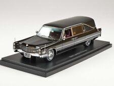 Neo Cadillac S&S Landau Hearse 1966 Black 1:43 43896