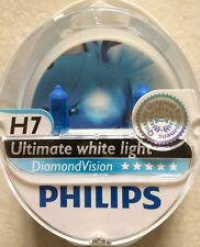 PHILIPS H7 DIAMOND VISION H7 POWER HEADLIGHT CAR BULBS H7 DIAMOND VISION 5000k