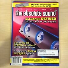 The Absolute Sound Issue 162, June/July, 2006 TAS Hovland HP-200 Preamp Review