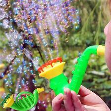 Water Blowing Toys Bubble Gun Soap Bubble Blower Outside Picnic Kids Child Toys