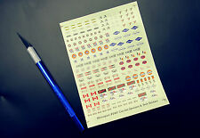 LOOK!! 1/24th - 1/25th CanAm/TransAm Decals For Slot Cars, Model Kits & Diecasts