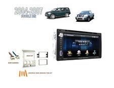 For 2004-2007 Nissan Titan Armada 2 DIN CAR STEREO KIT BLUETOOTH DVD TOUCHSCREEN