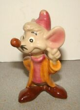Vintage Shaw American Pottery Disney Cinderella Jacques Mouse Figurine