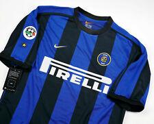 Inter Milan Home Retro Shirt 1999-2000, Ronaldo, Zanetti, S M L Xl 2Xl 3Xl
