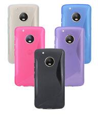 Lenovo MOTO g5 Plus // Guscio Guscio Per Cellulare Custodia Cellulare Silicone Protezione Bumper Gel