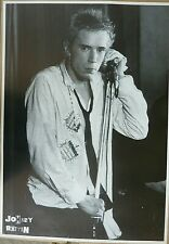 Rare Johnny Rotten Sex Pistols 1980'S Vintage Original Music Poster