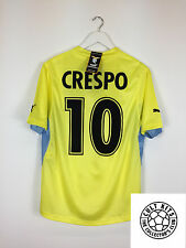 Lazio CRESPO #10 01/02 *BNWT* Away Football Shirt (M) Soccer Jersey Serie A