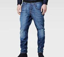 G Star Raw A-Crotch Tapered Jeans Blue Mens Size W30 L32 *REF3-4