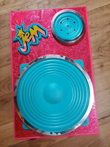 JEM &  Holograms Rock Backstager Audio Speaker Playset 1986 Hasbro Dressingroom
