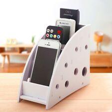 Remote Control Phone Organizer Flexible Holder Storage Box Home Desk Organizer