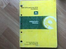 John Deere 9650 Sts 9750 Sts Combine Factory Operators Manual 525 Pgs Oem