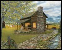 A Smoky Mountain Morning - DIY Chart Counted Cross Stitch Patterns Needlework
