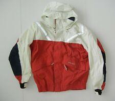 WEST MARINE Red Nylon RAIN JACKET Sailing Boating Windbreaker Coat Sz Men MEDIUM