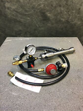 "JF #1 burner kit with ignition, gauge, and regulator with 72"" hose"