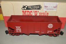 G scale Roundhouse Medford Trains Western Maryland Ry coal hopper car train