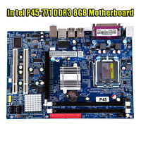 New for Intel P45 Socket LGA771 MicroATX Computer Motherboard DDR3 8GB Mainboard