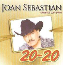 Ranchero Con Banda 20-20 by Joan Sebastian (CD, Jan-2010, Musart)