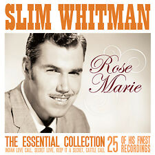 CD SLIM WHITMAN ESSENTIAL COLLECTION ROSE MARIE INDIAN LOVE CALL SECRET LOVE ETC