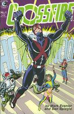US COMIC PACK CROSSFIRE 1-6 Eclipse Comics 1984 SPX