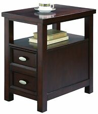 End Table Assembled Furniture Piece Books Reading Chair/Sofa Home Office Den NEW