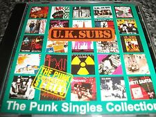 U.K. Subs CD Punk Singles Collection/The Exploited/GBH/Vice Squad/The Clash/999