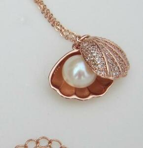 Handemade Charming AAA++ 11mm South Sea Genuine White Pearl Pendant Necklace