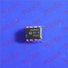 10PCS PWM CONTROLLER IC MOTOROLA/ON DIP-8 UC3843AN UC3843ANG UC3843A