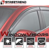 For 2013-2017 Ford Fusion Sun/Rain Guard Smoke Shade Deflector Window Visors 4pc