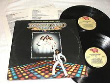 """Saturday Night Fever"" 1977 Rock/Disco,2-LP's,Nice EX!,+Poster Order Form/Insert"