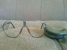Vintage Carrera Porsche Design Folding Sunglasses Eyeglasses Frame Aviators 5622