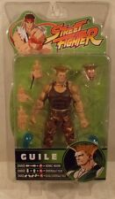 Street Fighter Series Round 3 - Guile Dark Brown Comb SOTA (MIP - Slit Bubble)