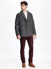 OLD NAVY Men Wool Peacoat Pea Coat REG TALL S,M,L,XL,2XL,3XL,MT,LT,XLT,2XLT,3XLT