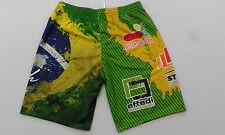 FOOTEX Pantaloncino Beach Volley Brasile Made in Italy Colore Verde/Giallo
