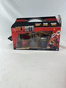 Ninja Bots 2-Pack Hilarious Battling Robots Red/Black - NEW IN BOX! Box Torn