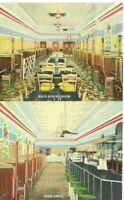 Vintage Post Card c.1942 Iowa Dubuque Diamond's Cafeteria & Soda Grill