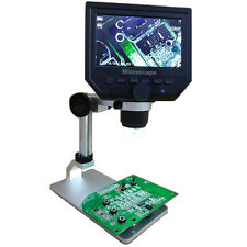 G600 Digital 1-600X 3.6MP 4.3inch HD LCD Display Microscope Continuous Magnifie
