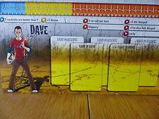 Zombicide-Dave-Carattere Pannello Di Controllo Card (solo scheda)
