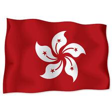 """HONG KONG Flag car bumper sticker decal 6"""" x 4"""""""