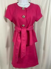 J. Crew Collection Pink Cotton Skirt Suit Women Size 10/8 Spring Easter Outfit