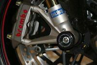 R&G Racing Fork Protectors for the Ducati 848 2008-2014 FP0060BK BLACK