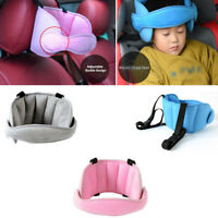 Car Seat Safety Headrest Pillow Sleeping Support Pad For Kids Baby Travel Buckle