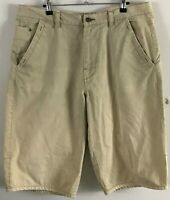 COLORADO ROCCO | Men's Shorts | 100% Cotton | 5 Pockets | Beige |  Size 36