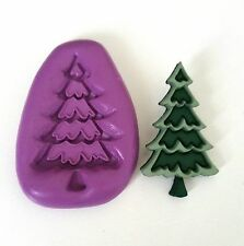 CHRISTMAS TREE Mould Sugarcraft Chocolate Fondant Sugarpaste Icing Mold Cake