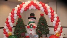 CHRISTMAS PARTY , BALLOON ARCH FRAME, USE AIR FILLED BALLOONS