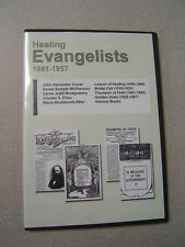 Pentecostal Healing Evangelists DVD - 50,000 pages - Dowie, McPherson, Etter etc