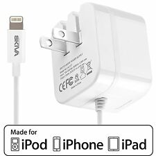Skiva 2.4Amps 12W AC Wall Foldable Plug Charger for iPhone X 8 7 6 5 (AC107)