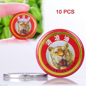 10 Health Care Essential Tiger Balm Oil Headache Carsickness Itching Pain Relief