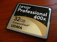 32GB CF Compact Flash Memory Card for Canon EOS REBEL XTi or camera with CF slot