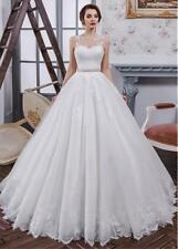 a046New White/ivory  Wedding dress Bridal Gown custom size 2 4 6 8 10 12 14+++